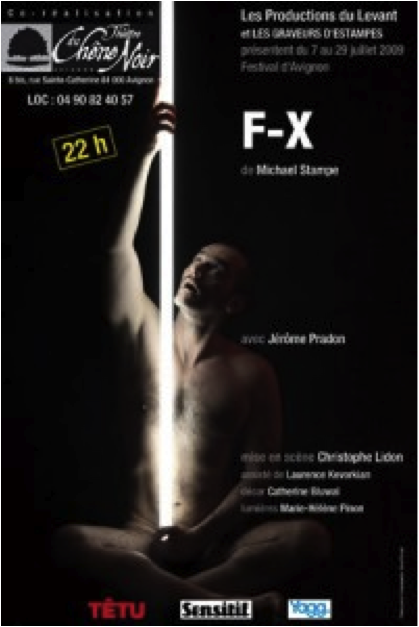 Pièce F-X de Jérôme Pradon