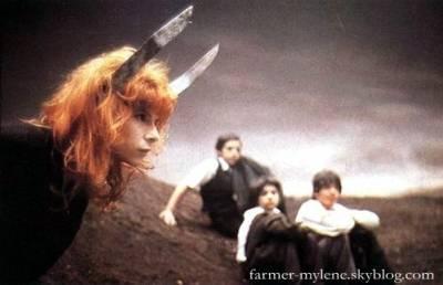 """Vidéo-clip de la chanson """"Sans logique"""" de Mylène Farmer"""