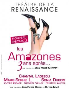 """Pièce """"Les Amazones 3 ans après..."""" de Jean-Marie Chevret"""