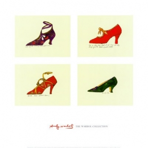 "Dessin ""Shoes"" d'Andy Warhol"