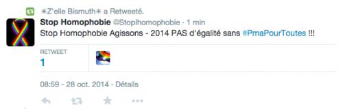 La liberté absolue, ça donne ça... (sur Twitter, le 29 octobre 2014)