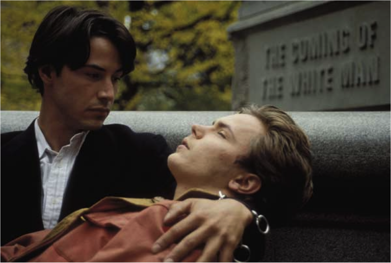 "Film ""My Own Private Idaho"" de Gus Van Sant"