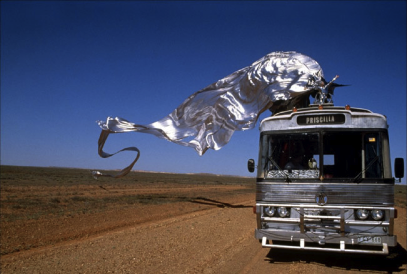 "Film ""Priscilla folle du désert"" de Stephan Elliott"