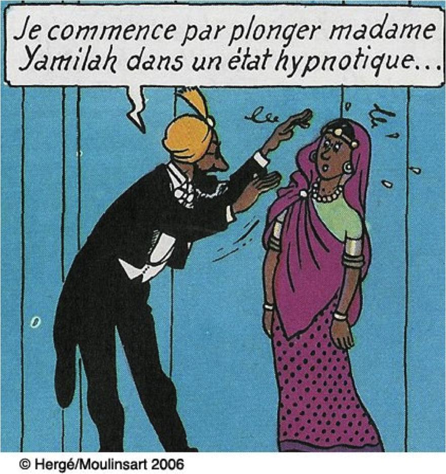 B.D. les 7 Boules de cristal de Hergé