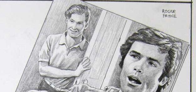 Roger Payne (le voyeur vu dans le miroir par celui qui  jouissait de lui-même devant sa glace)