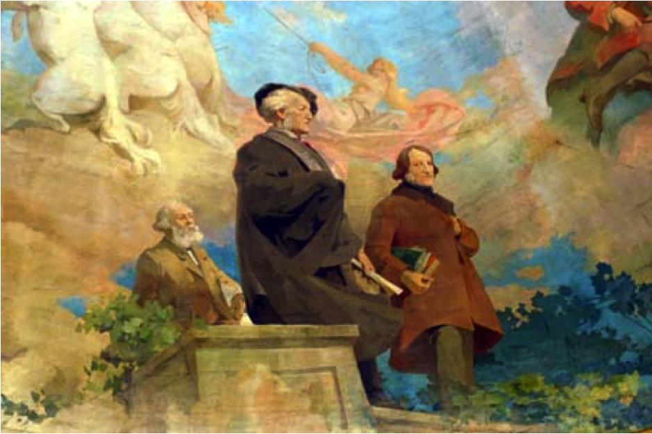 """Opéra """"Das Rheingold"""" de Richard Wagner"""