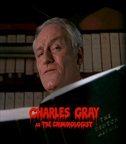 "Charles Gray, le machiavélique ""story-teller"" du film ""The Rocky Horror Picture Show"" de Jim Sharman"