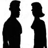 femme et homme cire