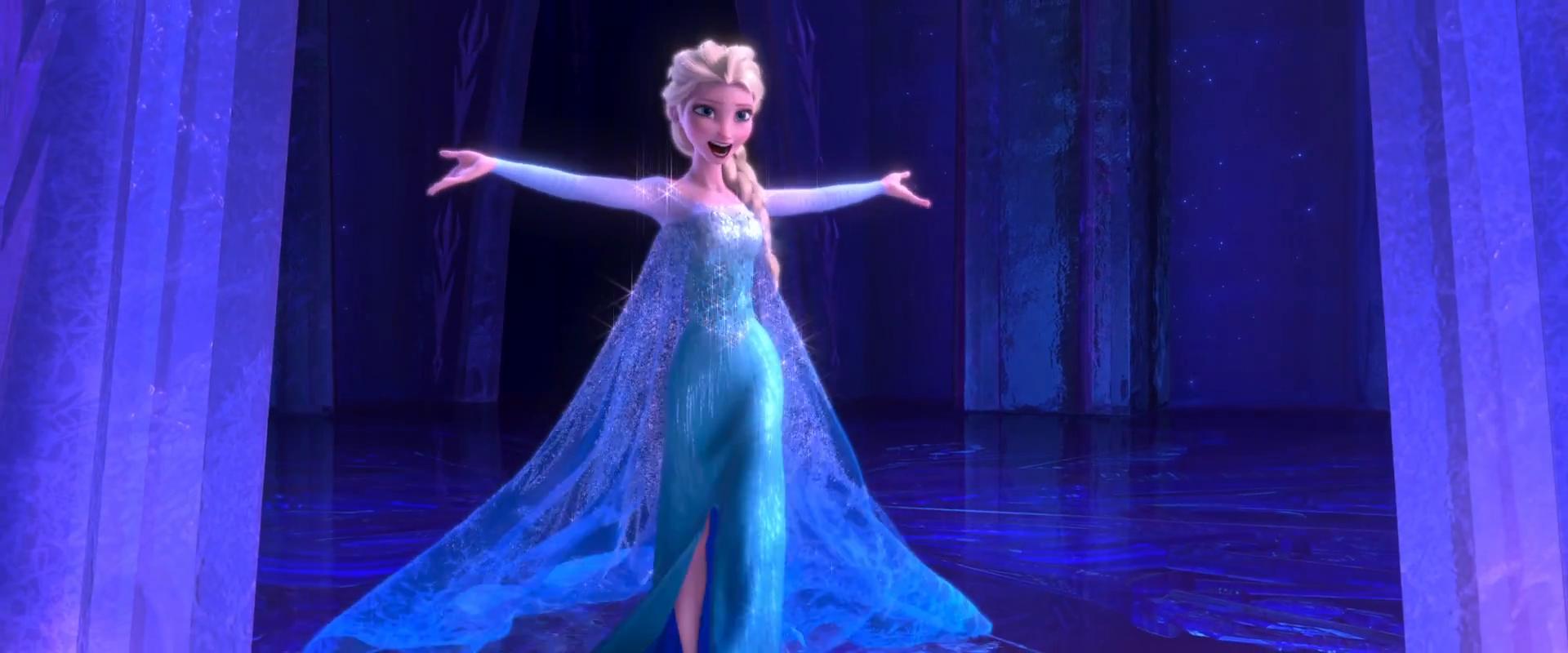 Film d'animation La Reine des Neiges de Walt Disney (Ne la laisse pas tomber, elle est si fragile, être une femme libérée, tu sais c'est pas si facile...)