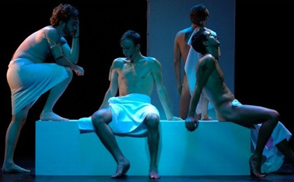 Comédie musicale Sauna de Nicolas Guilleminot