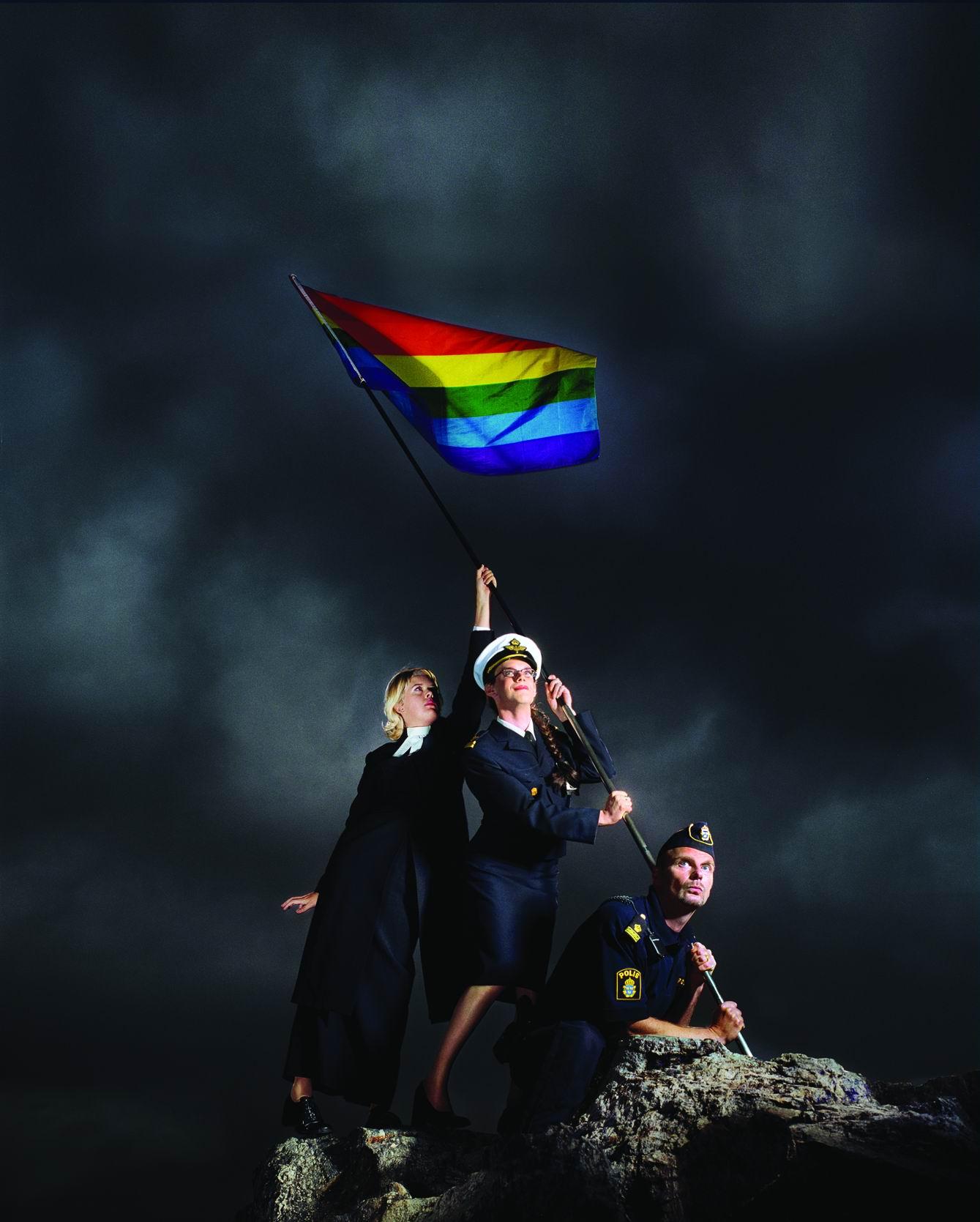 Clichés télébristes pro-LGBT d'Élisabeth Ohlson Wallin