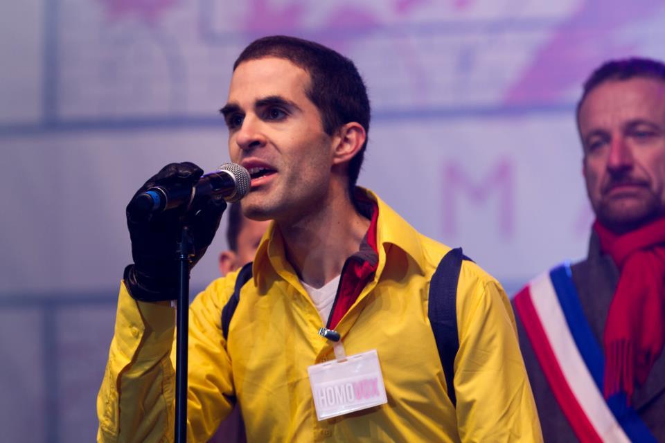 Discours au podium du Champs de Mars, le 13 janvier 2013