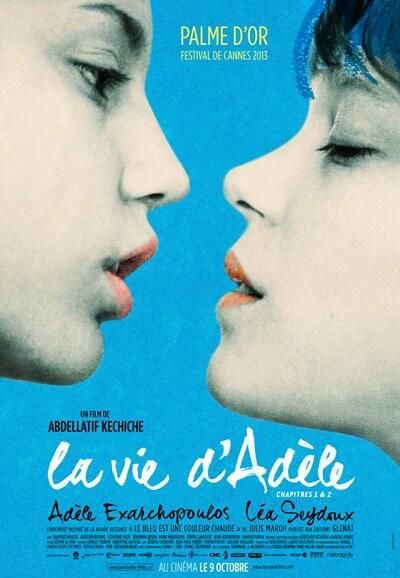 La vie d'Adèle affiche bleue