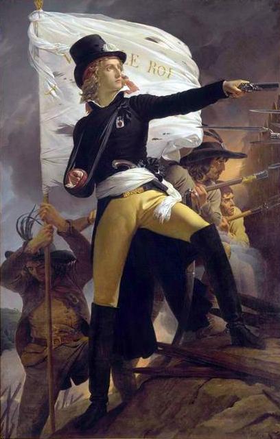 Tableau Henri de la Rochejacquelein, au Musée d'Histoire de Cholet