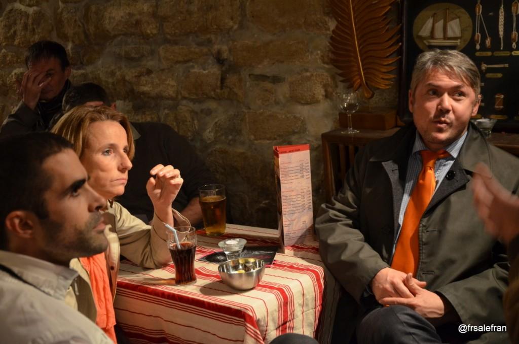 Nouvel Arbitre réunit ce lundi 4 novembre Béatrice Bourges, Frédéric Pichon et Philippe Ariño