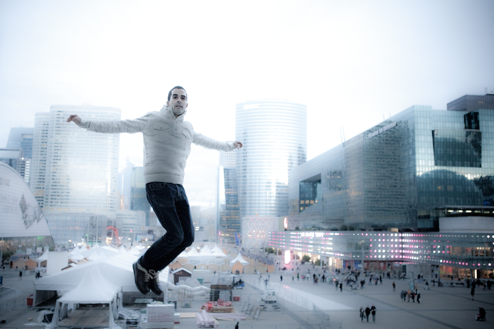 Photo par Jean-Baptiste Bonavia (Paris, la Défense, janvier 2014)