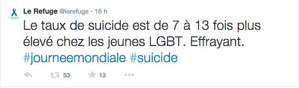 Pourquoi il s'est suicidé ? PARCE QU'IL ÉTAIT HOMO ET QU'IL A ÉTÉ VICTIME D'HOMOPHOBIE, pardi!