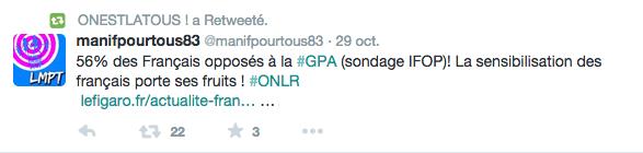 """Il croit que ça avance parce qu'il entend """"opposition à la GPA"""" (... sauf que depuis le départ, Hollande et ceux qui promeuvent la GPA se croient contre)"""