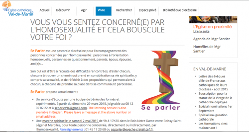 Le mouvement SE PARLER du diocèse de Créteil