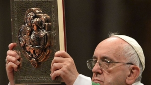 """Bulle papale : """"... Je fais la gueule pour rassurer..."""""""