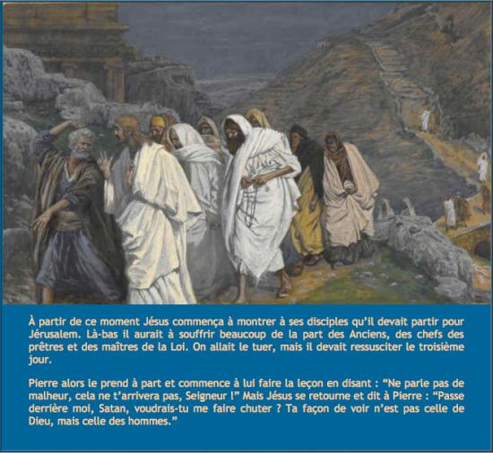 Prophète attaqués empêcher la montée à Jérusalem
