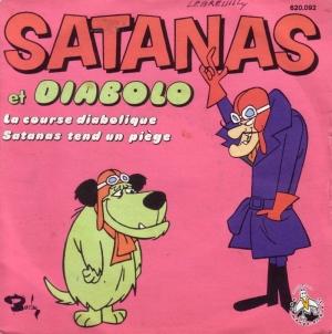 Diabolo et Satanas dans Les Fous du volant
