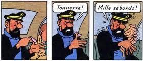 Hergé, Coke en stock