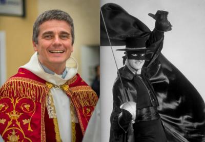 Père Pierre Brunet / Zorro