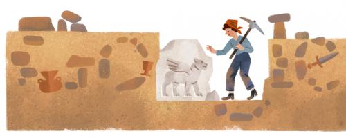 Quenouille fouilles
