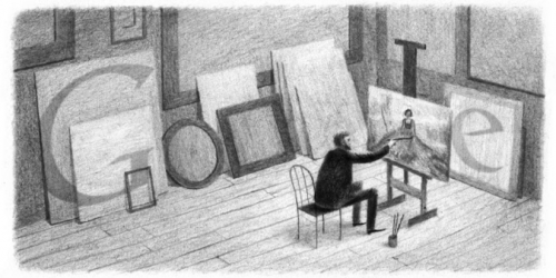 Quenouille peintre