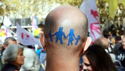 FRANCE-POLITICS-GAYS-MARRIAGE