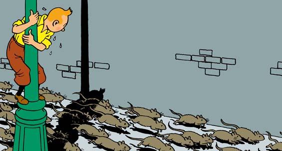 L'Étoile mystérieuse de Tintin
