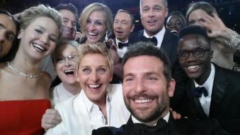 Une des selfies les plus partagées et connues au monde