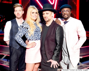 The New Judge Line Up Begin Filming The Voice UK