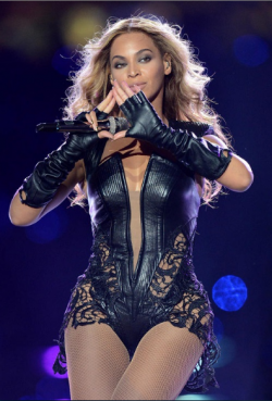 La chanteuse nord-américaine Beyoncé