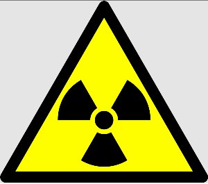 Le Triangle comme symbole de danger (radioactif)