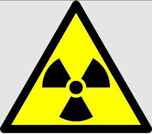 Le Triangle comme symbole de danger (radioactif)