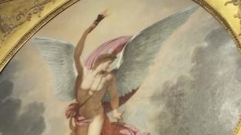 Lucifer prométhéen vu au Louvre à Paris
