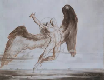Le soir, la Tombée du jour (1869) de William Rimmer