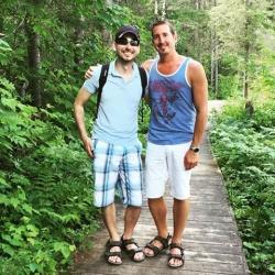 couple homo touriste s