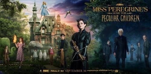 Miss Peregrine et les enfants particuliers : sorti il y a 10 jours sur nos écrans français. L'école à la maison... pardon, Satan à la maison