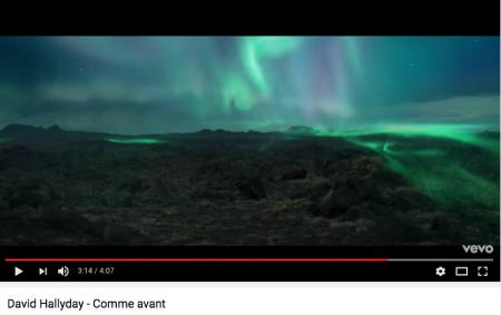 """""""Ne plus être sourd au bruit de l'amour"""" (vidéo-clip """"Comme avant"""" de David Hallyday)"""
