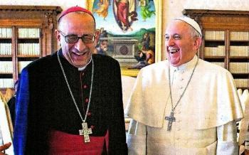 Monseñor Omella-Omella, obispo de Barcelona, gran amigo de mi padre... y del Papa Francisco