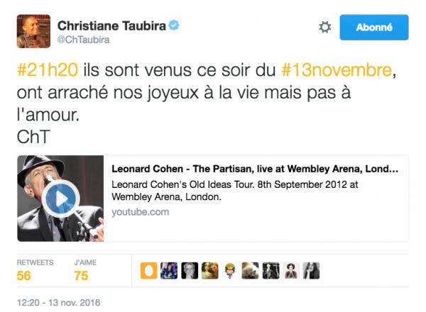 Elle est géniale, Christiane...