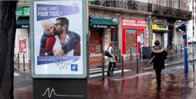 Affiche à Montpellier en 2014