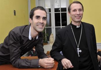 Monseñor Brouwet y yo